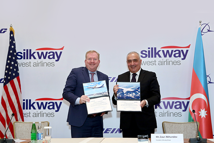 Silk Way West Airlines signs strategic fleet expansion agreement with Boeing