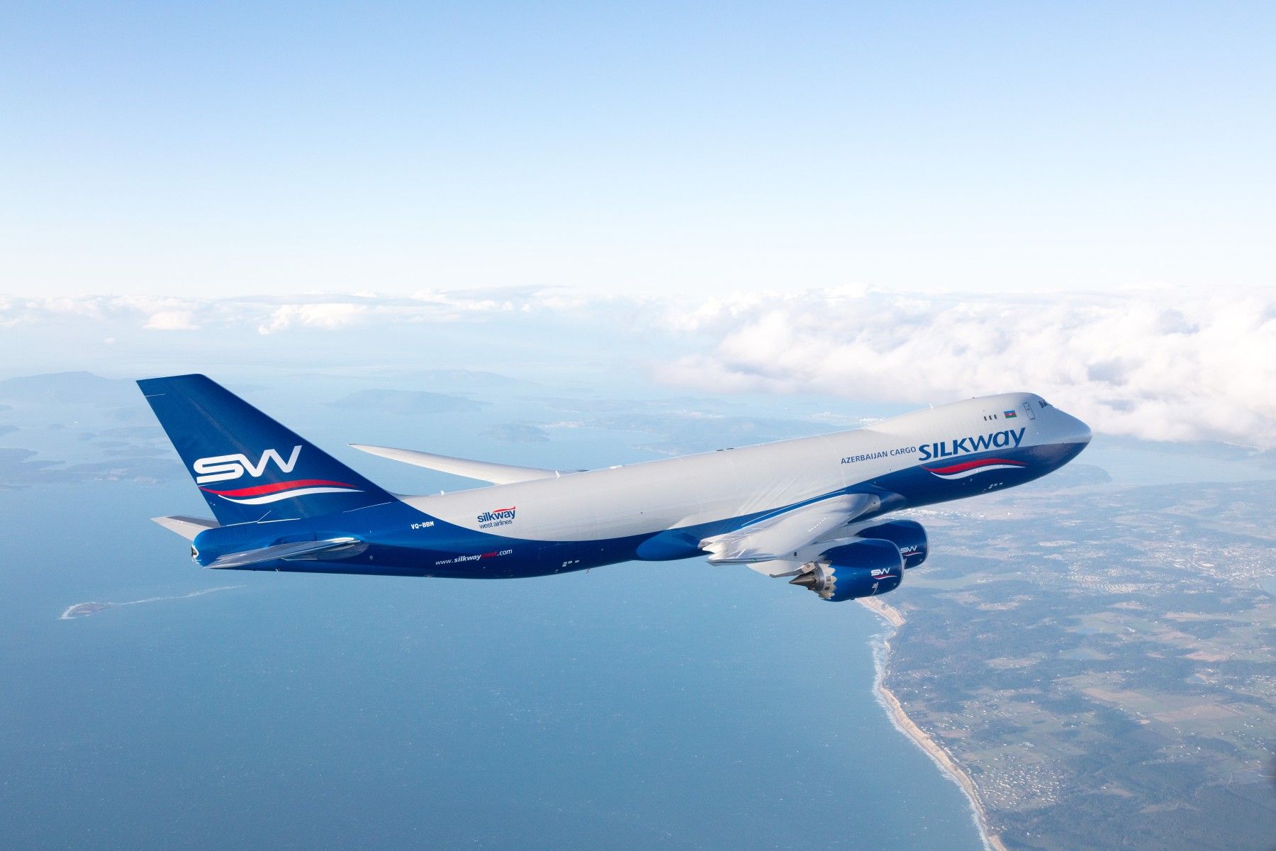 Silk Way West Airlines carries out charter cargo flight between Azerbaijan and Brazil